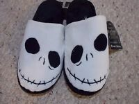 Nightmare Before Christmas Adult Jack Slippers Size Small 5-6