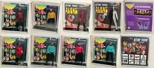 STAR-TREK-U-CHOOSE-8-034-MEGO-1974-75-KIRK-SPOCK-McCOY-UHURA-SCOTT-ACRYLIC-CASES