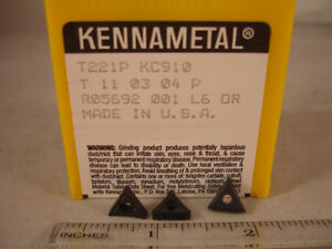 T-221P-KC910-KENNAMETAL-Carbide-Inserts-10pcs-229