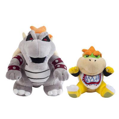 """14/"""" Super Mario Odyssey Bowser Koopa Wedding Form Plush Doll Stuffed Toy Gift"""