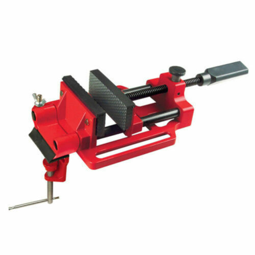 CLARKE Rubber Jawed Quick Release Drill Press Vice 100mm G clamp mount CDV-100QR