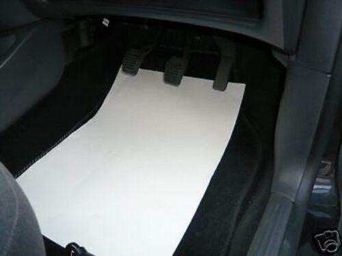100 papel de coche desechables de economía Tapetes ***