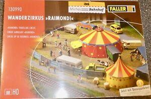 Cirque-Raimondi-faller-130990-H0-1-87-Kit-Jamais-Assemble-Neuf-et-Emballe-A
