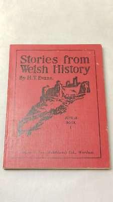 GroßZüGig Stories Von Welsh History Junior Buch 1 Von Evans,howell Thomas,hardcover 19