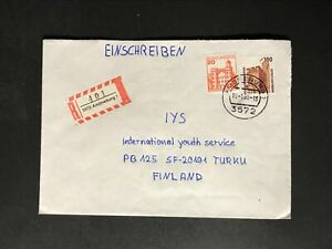 Germany FRG BRD #1475//9N532 Dauerserie Frauen/Famous Women Cover Finland #353