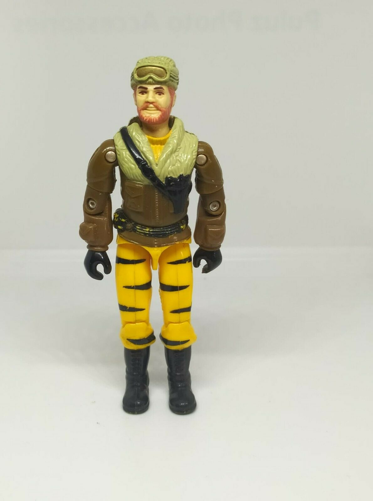 Comandos Heroicos Gi Joe Frostbite Mexico Auriken Rare Variant Vintage 80s Tiger