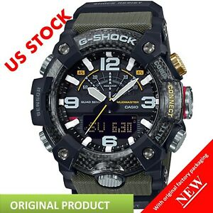 Authentic-G-Shock-Casio-Master-of-G-Mudmaster-Carbon-Core-Guard-Green-GGB100-1A3