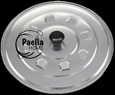 REGALO ORIGINALE SPAGNOLO 50cm Paella Pan /& 40cm tworings KIT BRUCIATORE di gas 42cm