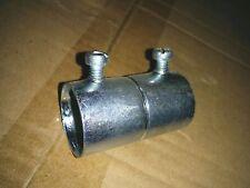 """5 pc lot Steel EMT Compression Type Connectors 1-1//4/"""" Conduit Fittings"""