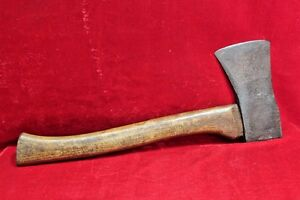 Old-Vintage-Rare-Antique-Steel-Hand-Forged-Mughal-Royal-Axe-with-Handle-BB-12