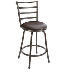 Mainstays 24 Quot Ladder Back Barstool 50276994510 Ebay