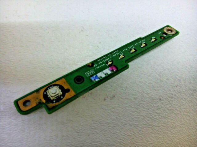 for Dell 50.4IP04.204 Laptop Replacement Power Button Board w//Flex Cable ZVFE315