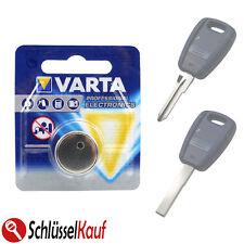 VARTA Schlüsselbatterie für Fiat Autoschlüssel 500 Bravo Marea Panda Punto Stilo