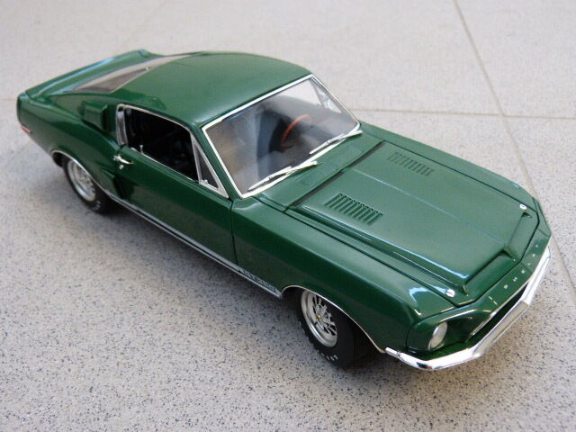 1968 Ford mustang shelby gt350 wt7081 Vert WT Series No 5 ACME Voiture Miniature 1 18