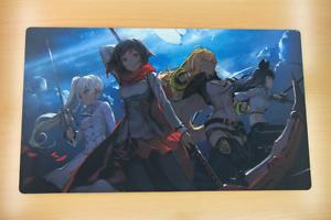 F984 Free Mat Bag rwby Anime Collectible Card Game jeu jeu de carte Tapis De Jeu Large Mouse Pad