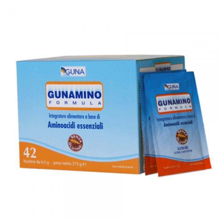 GUNAMINO FORMEL 42 BEUTEL GUNA ESSENTIELLEN AMINOSÄUREN ULTRAPURIFICATI ULTRAPURIFICATI ULTRAPURIFICATI 410f8b