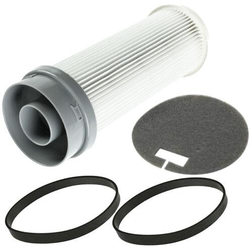 HEPA Pre /& Post Motor Filter /& Drive Belt Kit For Vax Power Vacuum Cleaners