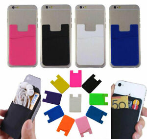 Wallet-Credit-Card-Cash-Holder-Pouch-Stick-On-Mobile-Phone-Pocket