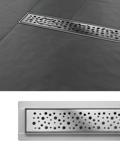Duschrinne Bodenablauf Napo 30 cm Edelstahl Siphon Ablaufrinne