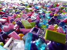 ??250+ LEGO GIRL FRIENDS PASTEL COLORS LEGOS SMALL DETAIL PIECES HUGE BULK LOT