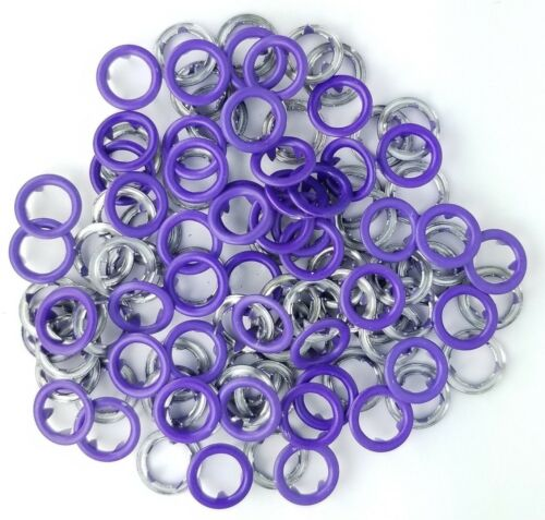 "Size 14-3//8/"" Matte Finish 10 SETS FREE SHIPPING USA Open Ring Snap"