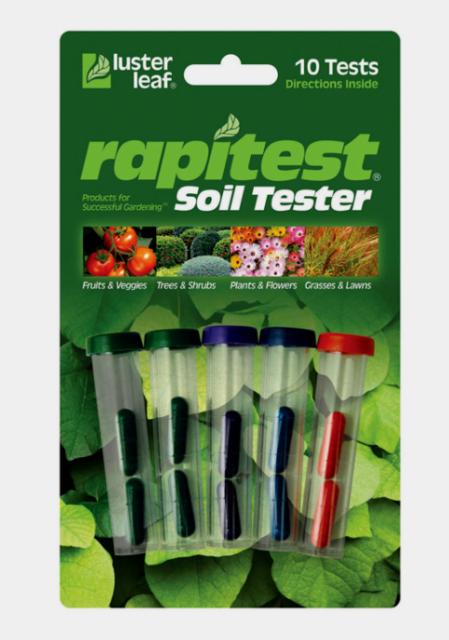 RAPITEST MOISTURE SOIL LAWN FLOWER GARDEN PLANT TESTER WATER CHECK STRIPS 3pk.