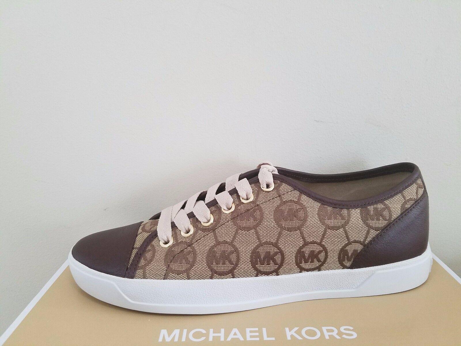 MICHAEL Michael Kors  Women's City Sneaker Monogram Jaquard Size 7.5 NIB