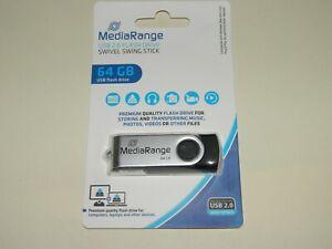 USB Stick MEDIARANGE 2.0 Flash Drive 64 GB