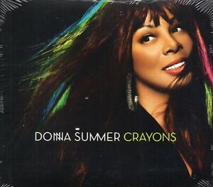 Donna-Summer-Crayons-2008-CD-Feat-Ziggy-Marley-New-amp-Sealed