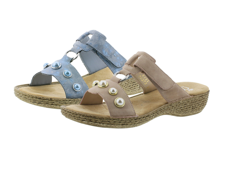 Rieker 658p1 Chaussures Femmes Femmes Femmes Mules Sandales ecb686