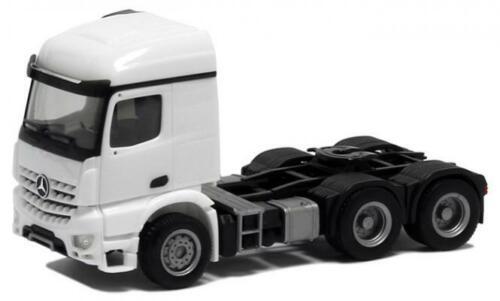 Herpa camiones MB arocs l 3 alineación szm blanco