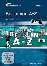2 DVDs *  BERLIN VON A-Z - 96 ORTSTEILE  # NEU OVP -