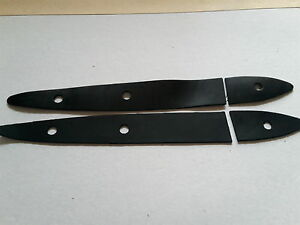 A Pair of Rubbers Vintage Morris Minor Boot Hinge Gaskets Seals