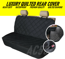 AUDI A5 S5 RS5 ALL YEARS Premium Quilted Pet Hammock Rear Seat Cover