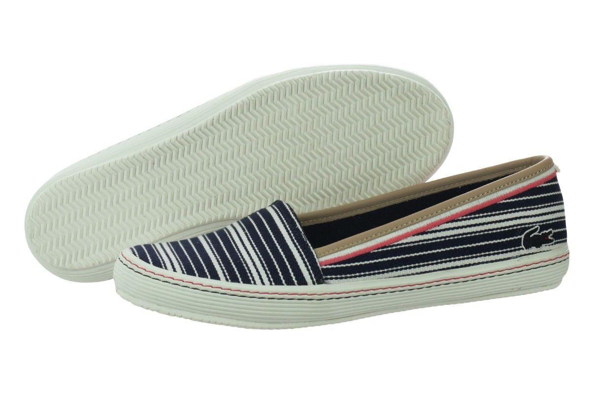 Lacoste Orange 6 AP SRW # 7-29SRW01271W6 Dark Blue Slip On Shoe Donna SZ 7 - 10