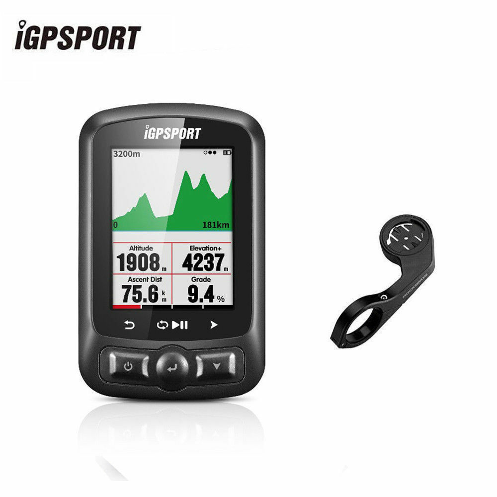 Igpsport ANT + GPS Bici Computadora Velocímetro Inalámbrico azultooth IGS618 4.0