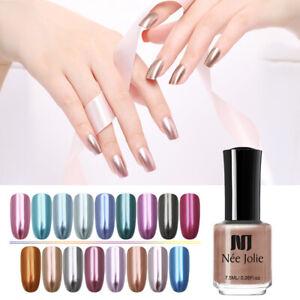 NEE-JOLIE-7-5ml-Metallic-Nail-Polish-Mirror-Effect-DIY-Nail-Art-Varnish