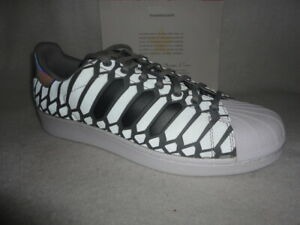 8b7e7ab0c32 Details about Adidas Superstar, Xeno, Silver / Grey / 3m / onyx /  reflective, D69367, Size 12