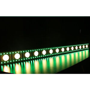 14 LED Light Bar RGB Wall Wash Stage Lighting DMX512 Color Mixing DJ Party Disco