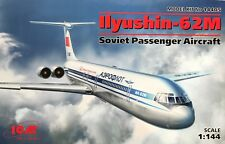 ICM 14405-1:144 Ilyushin-62M Soviet Passenger Aircraft Neu