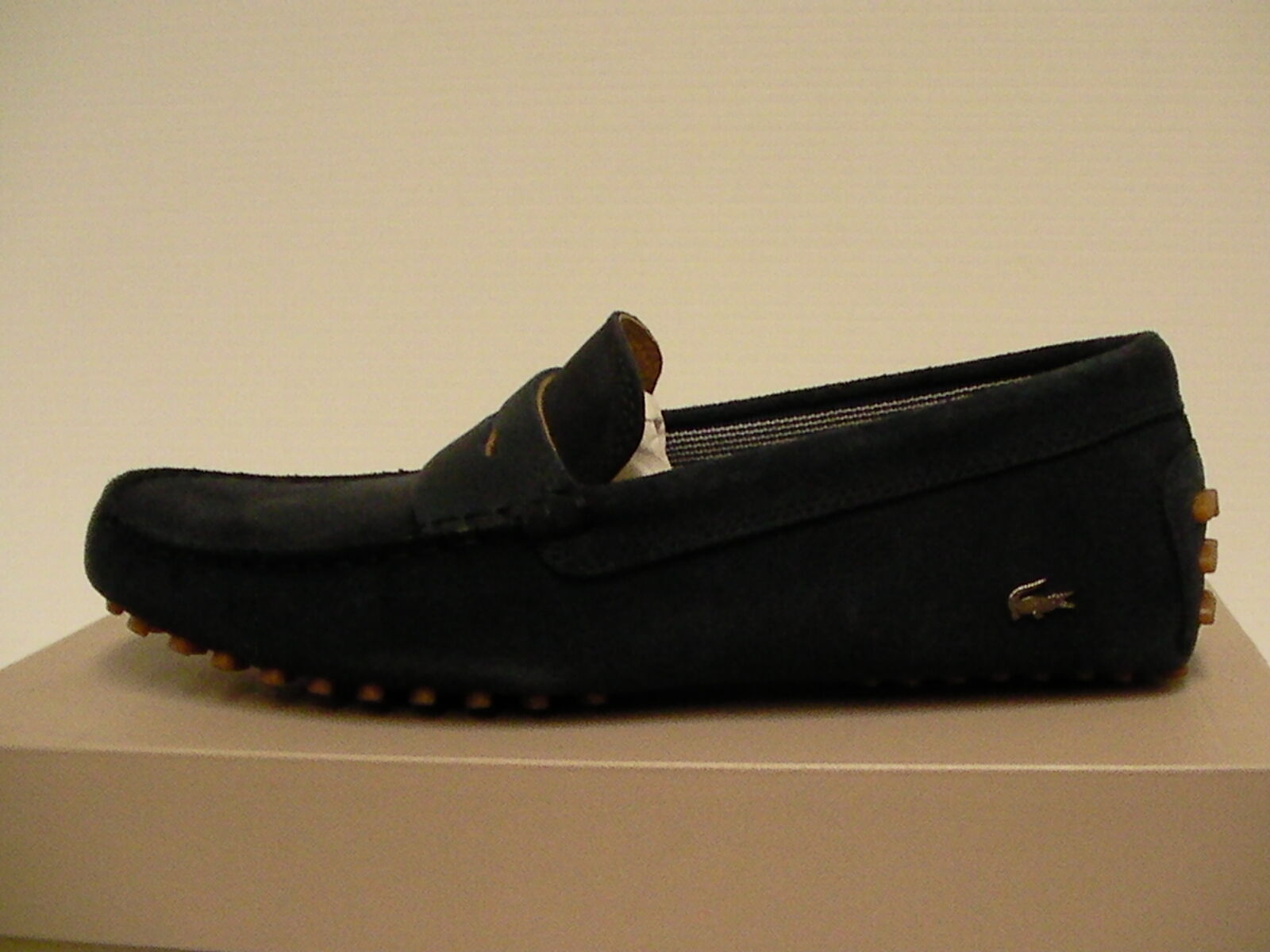 Scarpe casual da uomo  Lacoste uomo casual shoes navy size 8.5 us new with box