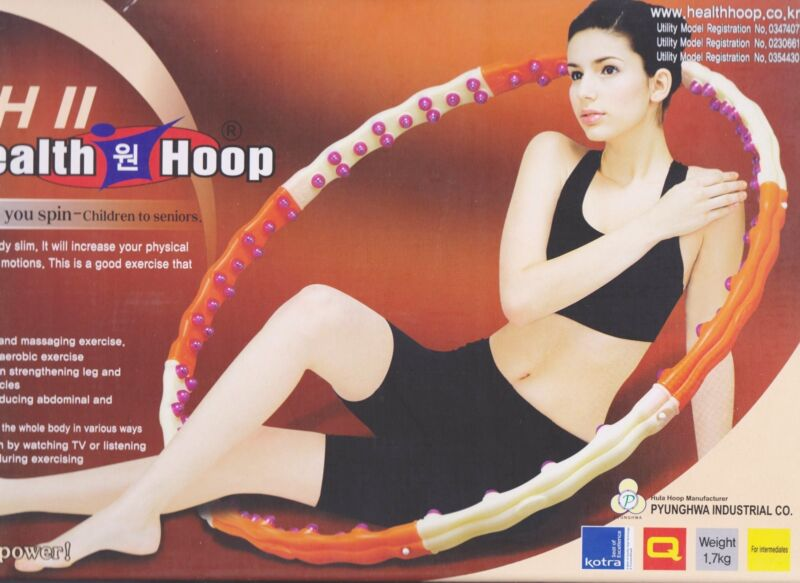 Jemimah 2 Health Hoop 1.7 KG (for intermediates) With New Box