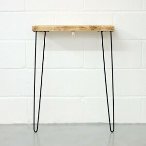 Narrow-Console-Table-With-Hairpin-Legs-Wooden-Rustic-Hallway-Table