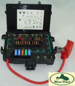 land rover fuse box relay fusebox range 97 99 p38 amr6476 oem ebay