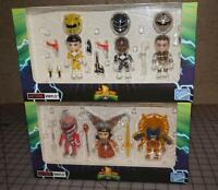 Power Rangers Lot Loyal Subjects Crystal Exclusive Action Vinyls Minif Brand