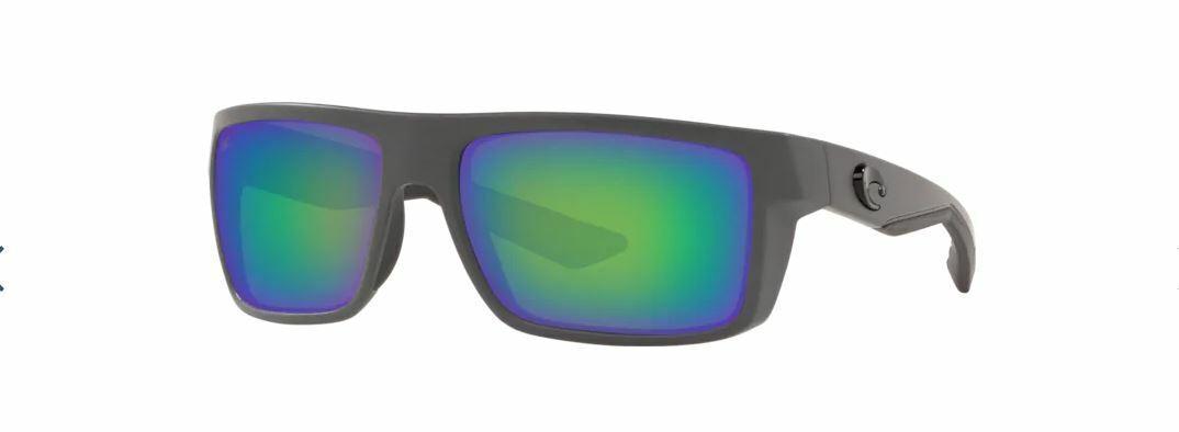 Blue Mirror 580 Glass 580G NEW Costa Del Mar CUT Matte Gray
