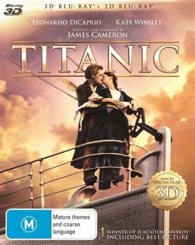 1 of 1 - Titanic 3D : NEW 3-D Blu-Ray + DVD