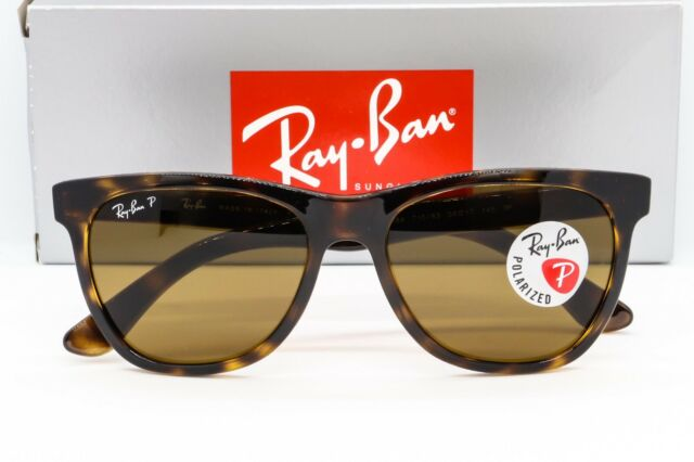 cbf0dc1c9d4 NEW RAY-BAN RB4184 POLARIZED SUNGLASSES 710 83 Havana Tortoise   Brown  Classic