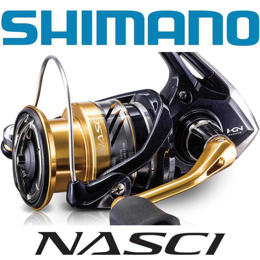 Shimano Nasci C3000HG Spinning Reel