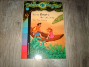 LA CABANE MAGIQUE...N°5...sur le fleuve Amazone...éd bayard 2005